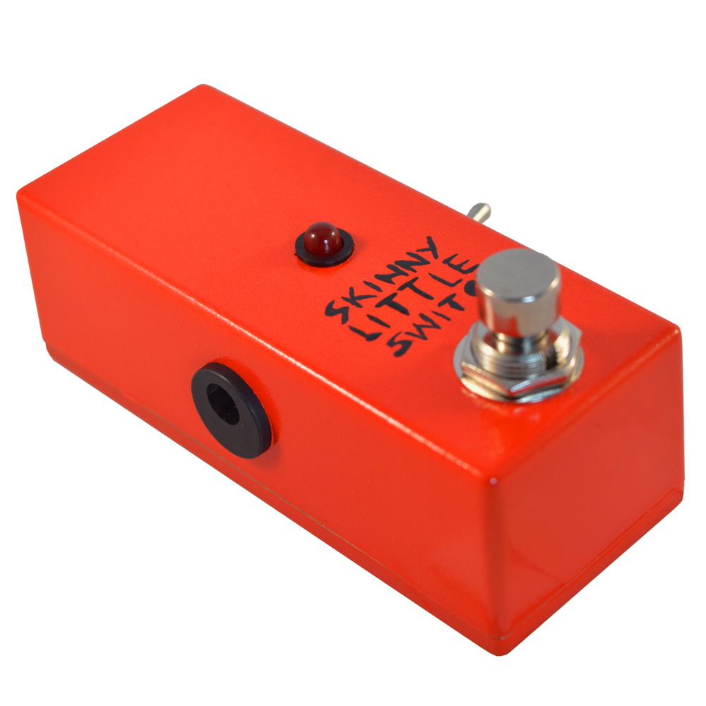 Skinny Little Switch Plus Latching Footswitch with LED