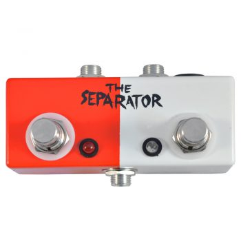 The Separator ABY Pedal Face