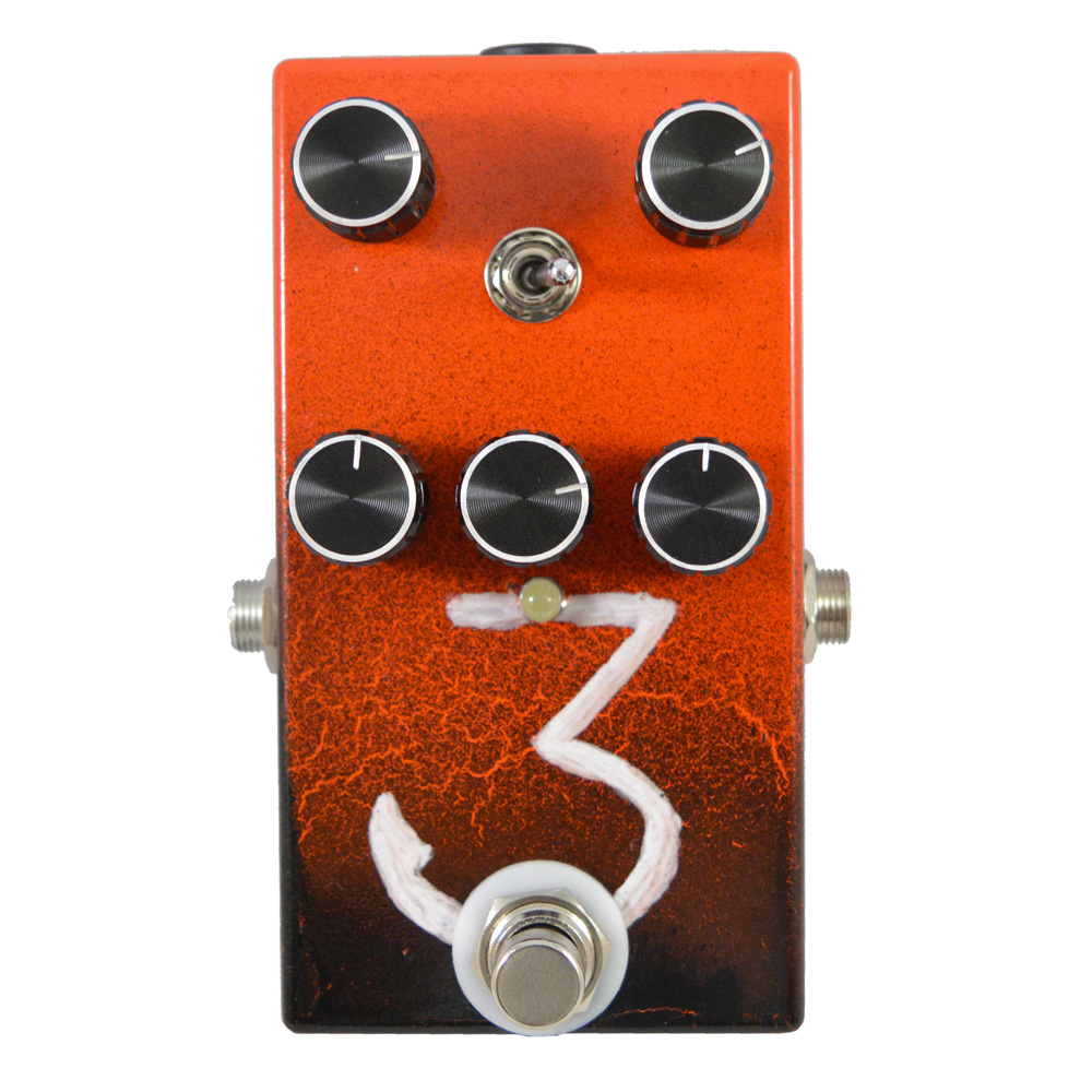 Dark Triad Overdrive and Distortion Pedal