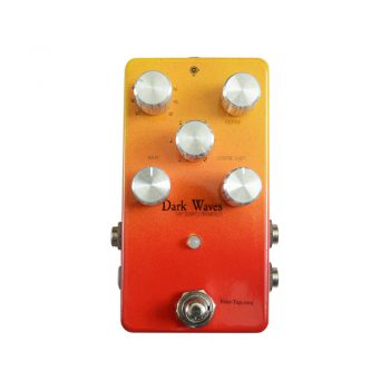 Dark Waves Tap Tempo Tremolo Pedal v2.0 Face